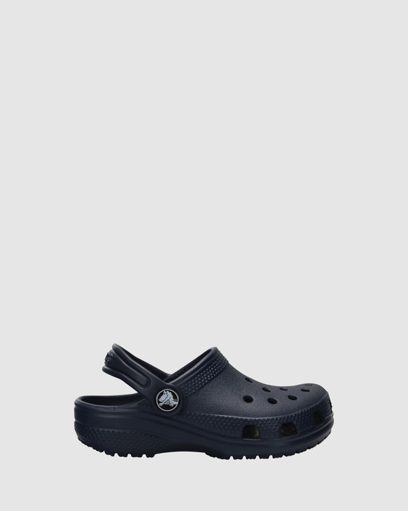 Shoes and Sox Classic Clog K B Navy