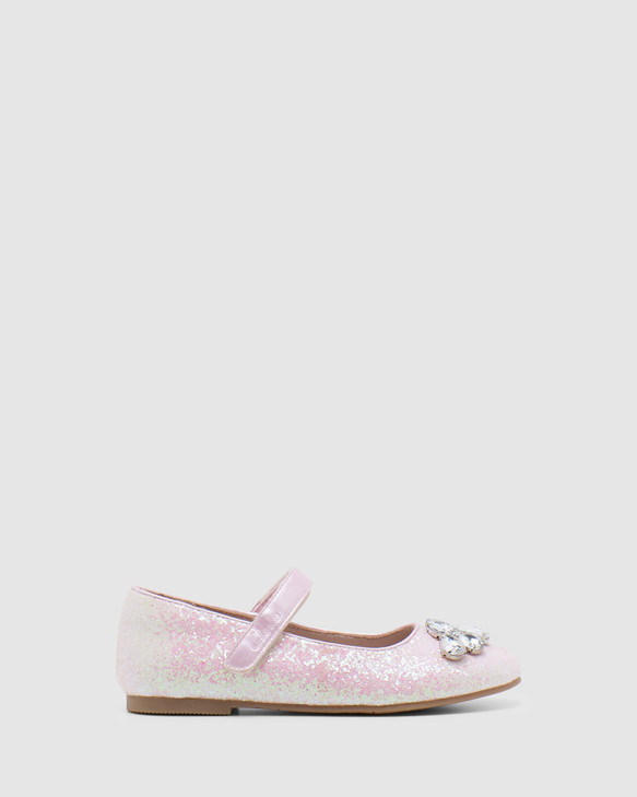 Shoes and Sox Adele Pale Pink