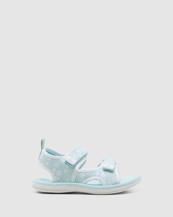 Shoes and Sox Florence Mint/White Butterfly