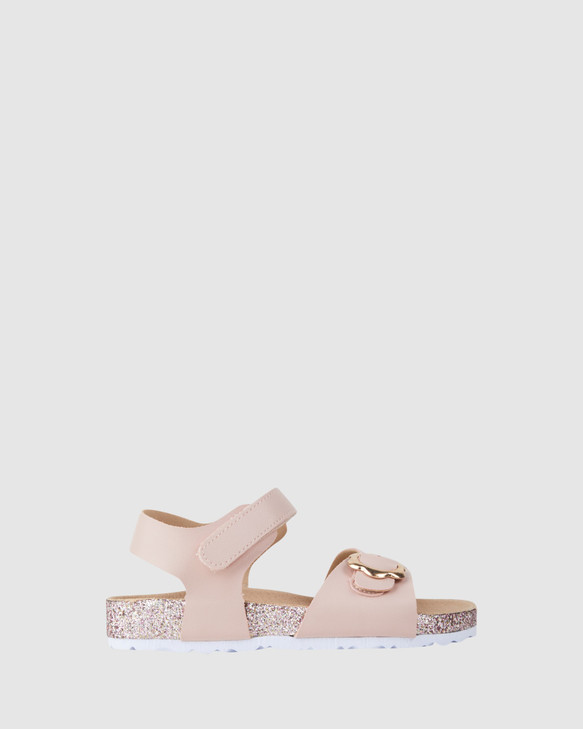 Shoes and Sox Avery Flower Blush