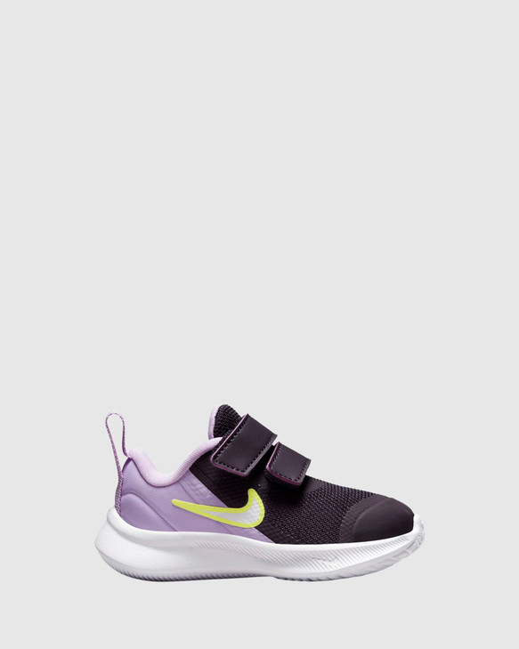 Shoes and Sox Star Runner 3 Inf G Cave Purple/White/Lilac