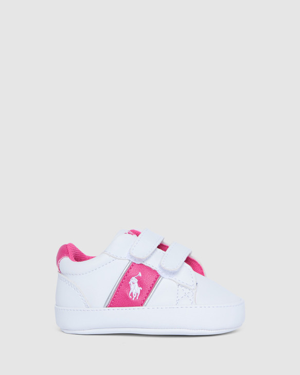 Shoes and Sox Oakview Ii Ez G White/Pink