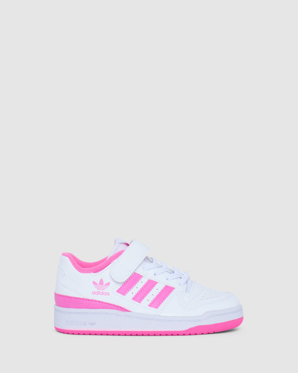 Shoes and Sox Forum Low Ps G White/Screaming Pink