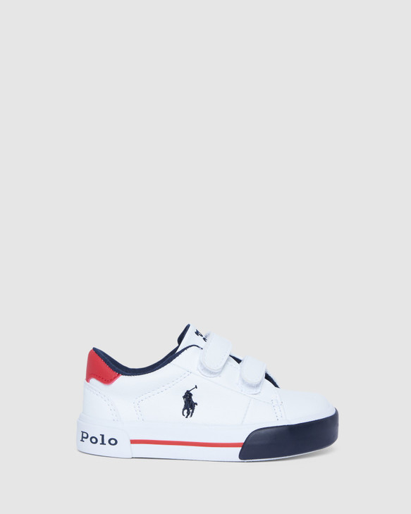 Shoes and Sox Graftyn Ez Inf B White/Red/Navy