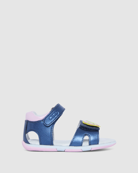 Shoes and Sox Bonnie Navy/Pink