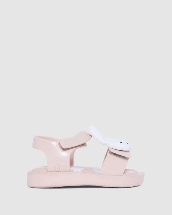 Shoes and Sox Jump + Miffy Sandal Bb Pale Pink