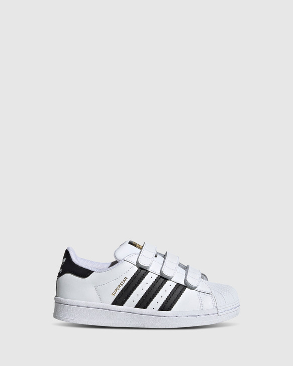 Shoes and Sox Superstar Foundation Ii Sf Ps White/Black