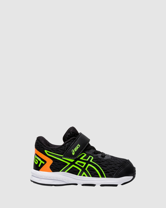 Shoes and Sox Gt-1000 9 Inf B Black/Green Gecko