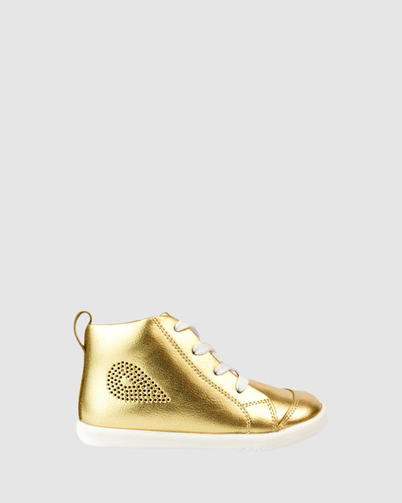 Shoes and Sox Iwalk Alley-Oop Gold Metallic