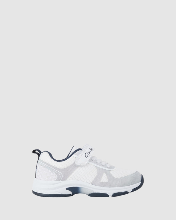 Shoes and Sox Active White/Navy