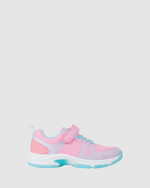 Shoes and Sox Active Pink/Turquoise