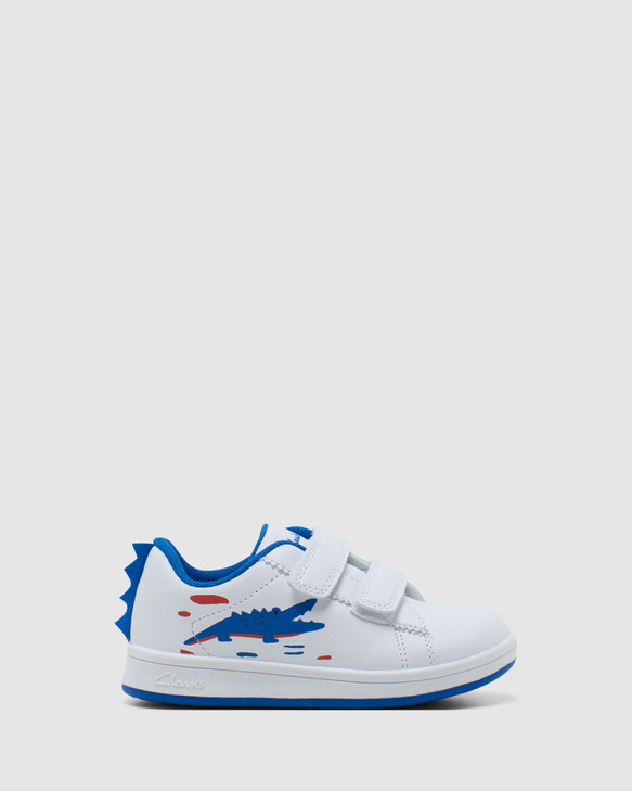 Shoes and Sox Darby White/Blue