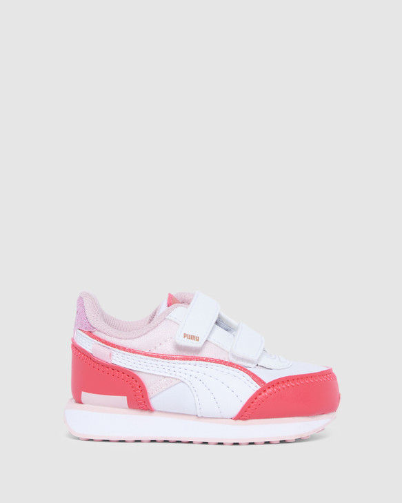 Shoes and Sox F/Rider Ballerina Sf Inf G Pink/White