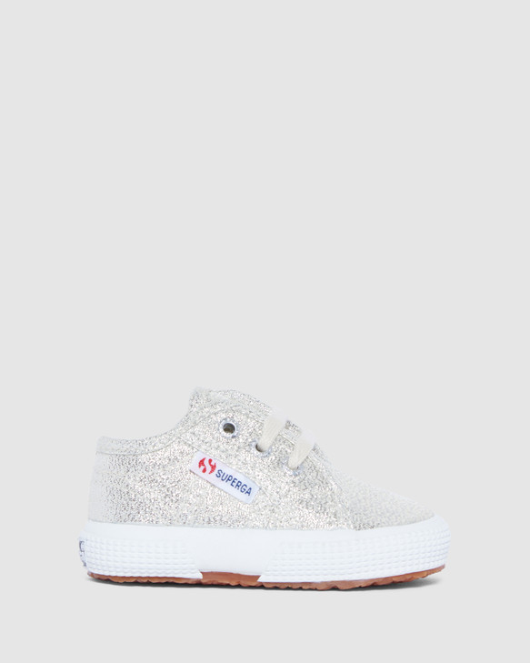 Shoes and Sox 2750 Lame Inf G Beige Metallic