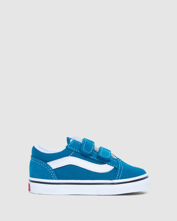 Shoes and Sox Old Skool V Inf B Blue Coral/White