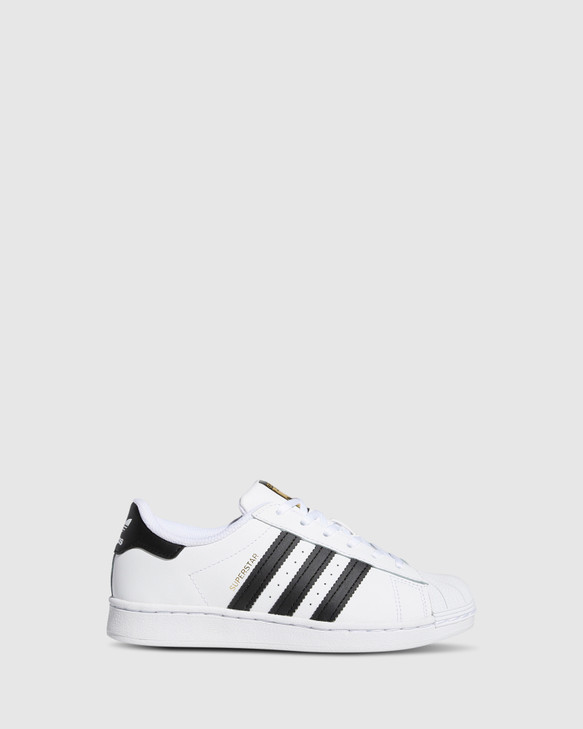 Shoes and Sox Superstar Foundation Ii Ps B White/Black