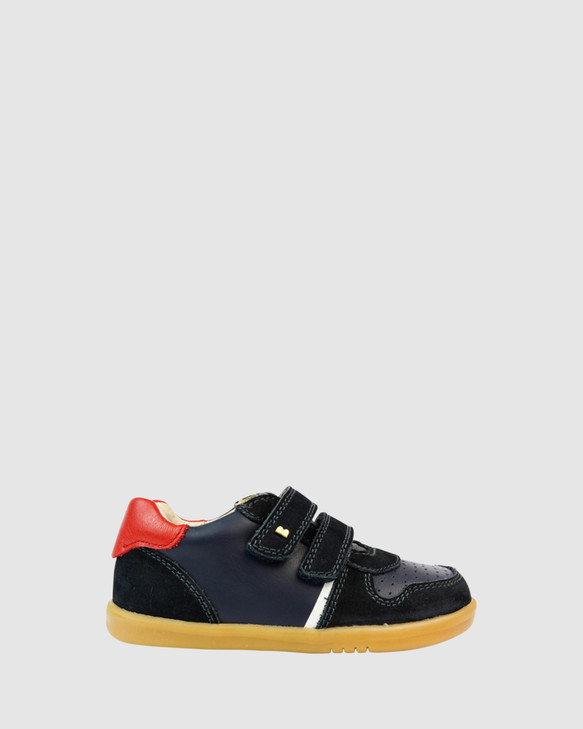 Shoes and Sox Iwalk Riley B Navy/Red