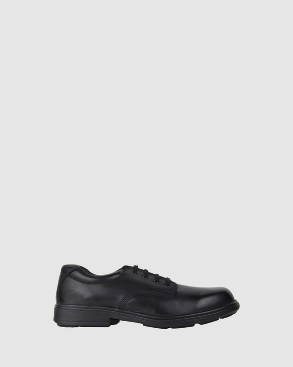 Shoes and Sox York Snr Black