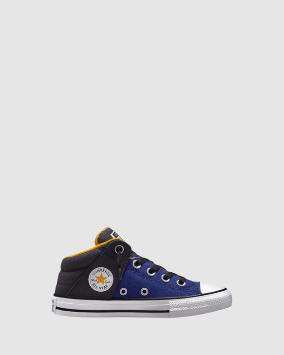 Shoes and Sox Ct As Axel Mid Yth Concord Blue