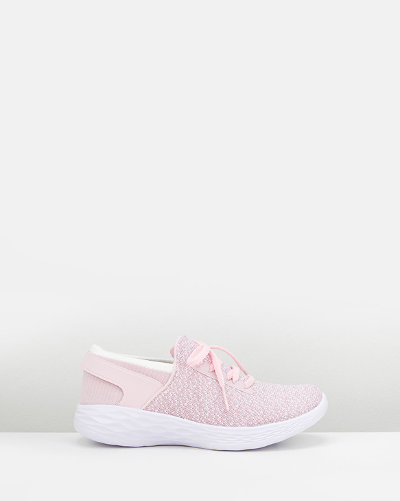 Shoes and Sox You   Inspire Yth Light Pink