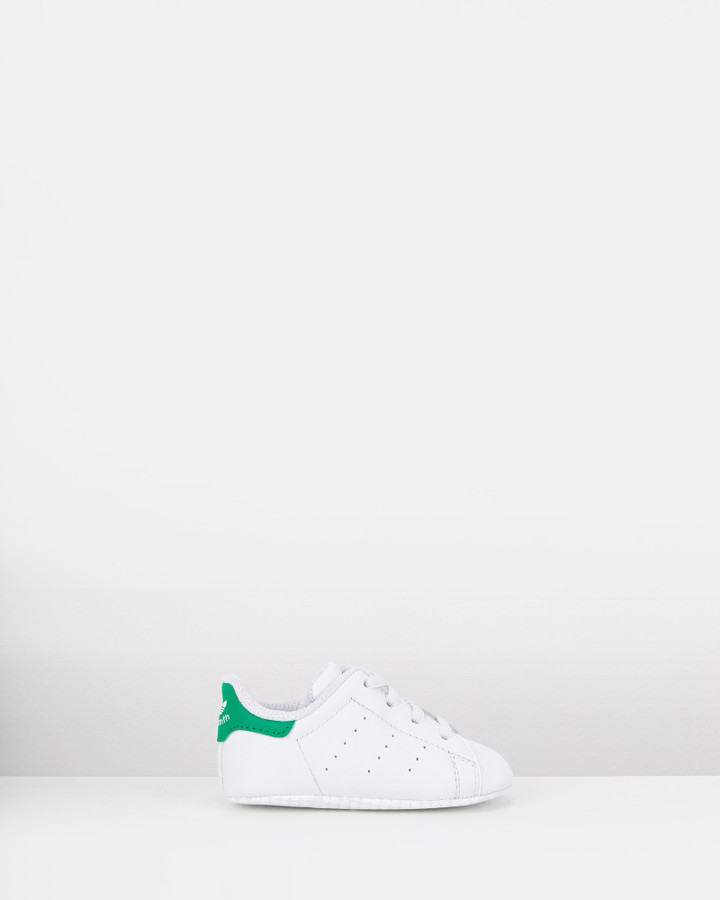 Shoes and Sox Stan Smith Crib White/Green