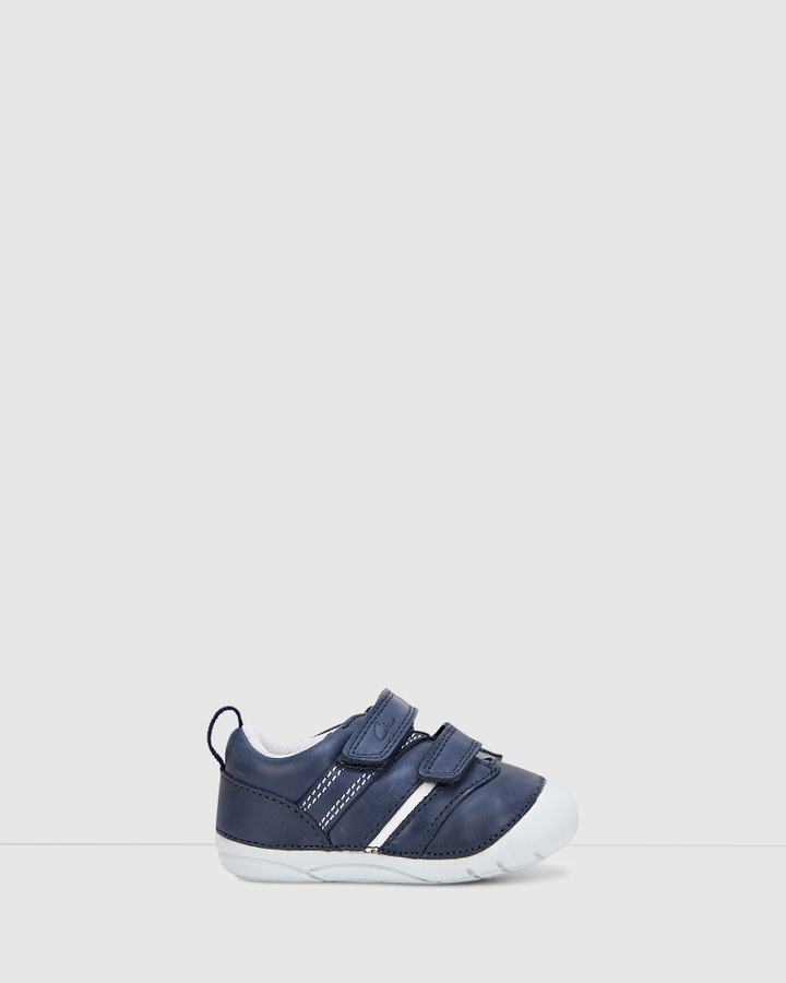 Shoes and Sox Bryce Navy/White