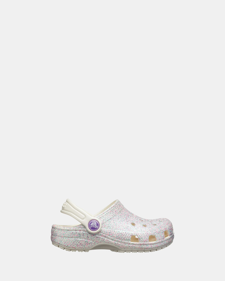 Shoes and Sox Classic Glitter Clog Multi