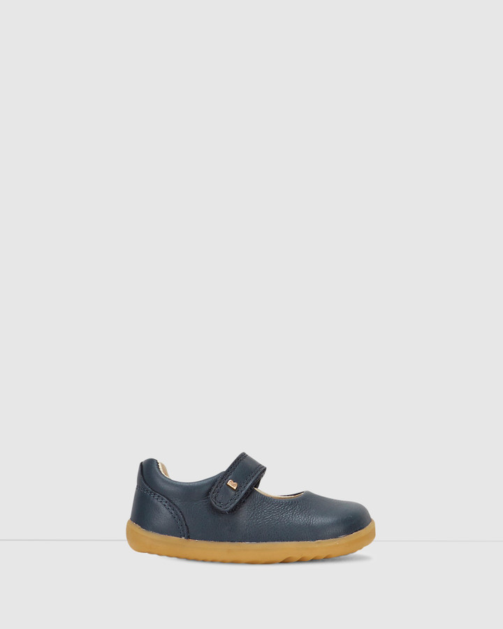 Shoes and Sox Step Up Delight Mary Jane Navy