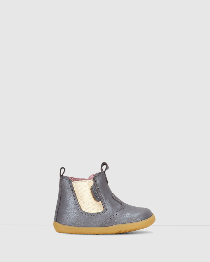 Shoes and Sox Step Up Jodhpur Boot Ii G Charcoal Dust