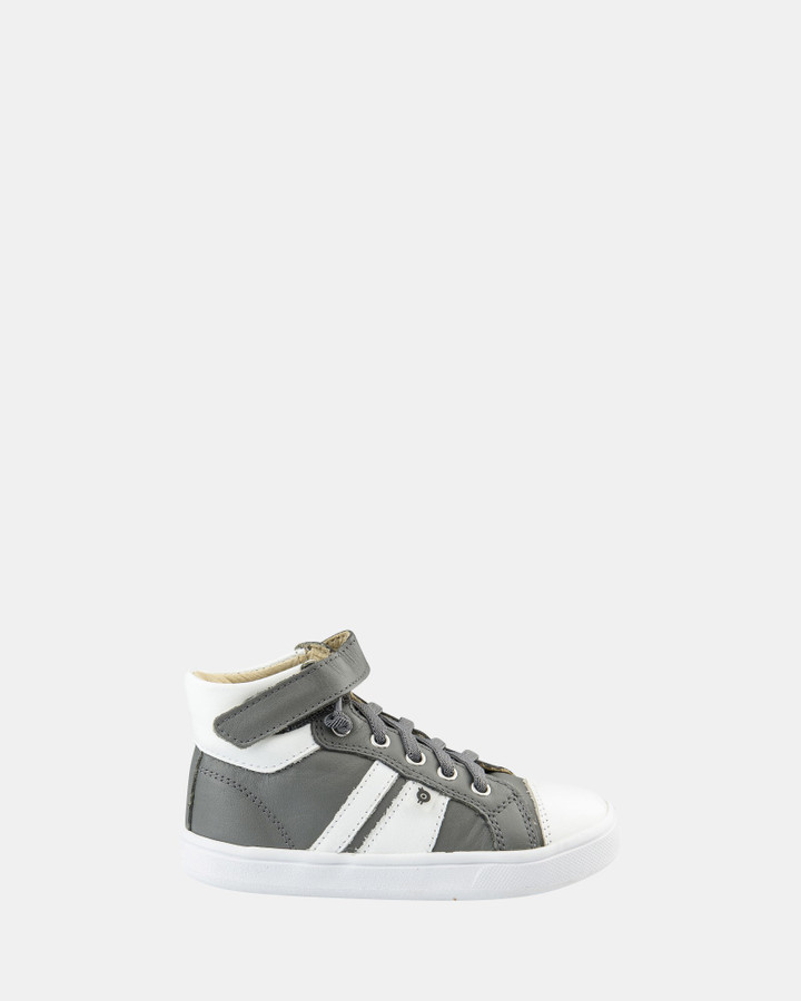 Shoes and Sox Urban Earth B Grey/White