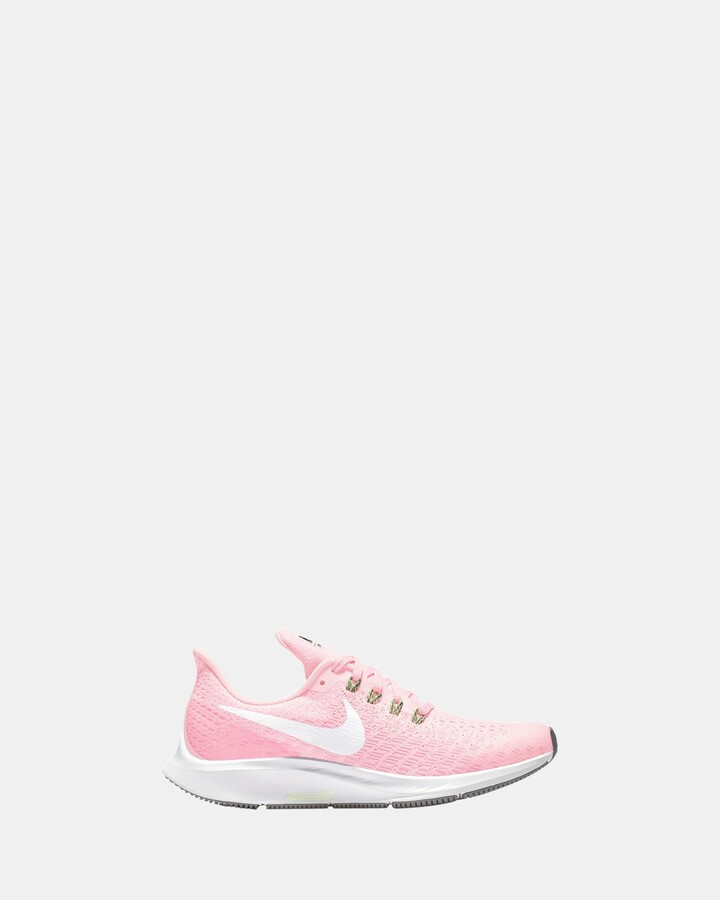 Shoes and Sox Zoom Pegasus 35 Gs G Pink Foam/White