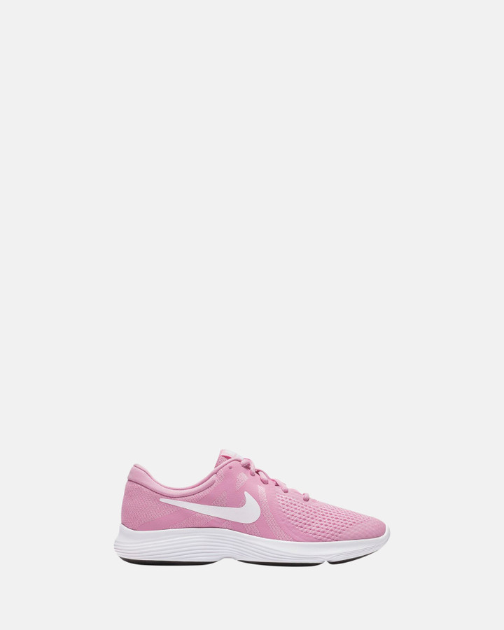 Shoes and Sox Revolution 4 Gs G Pink Rise/White
