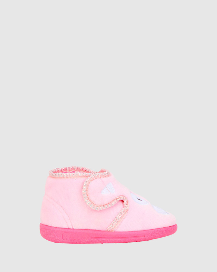 Shoes and Sox Doggy Slipper G Pink
