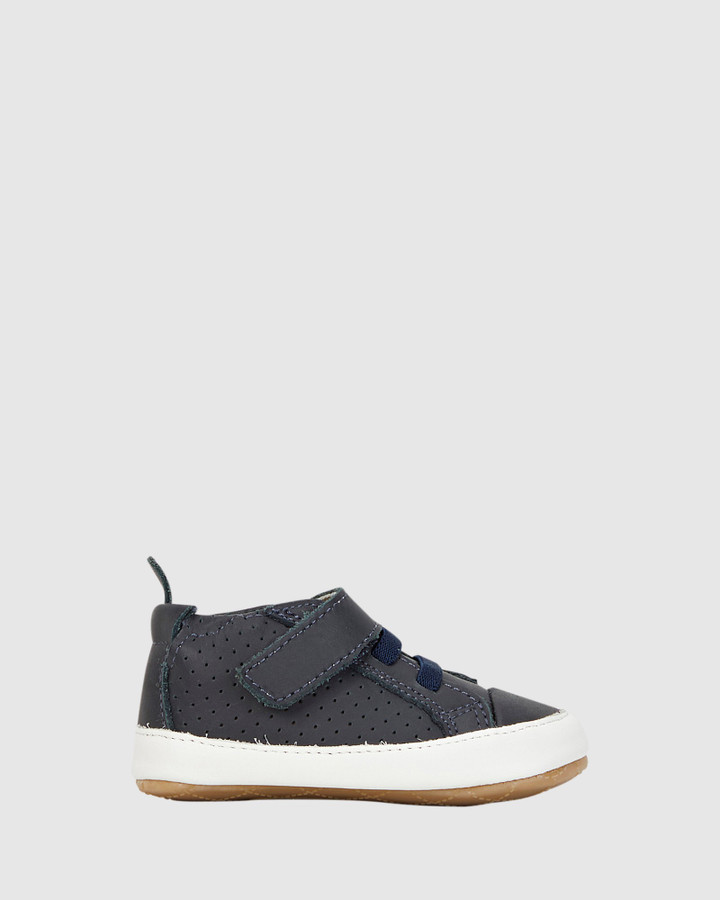 Shoes and Sox Cheer Bambini B Navy/White