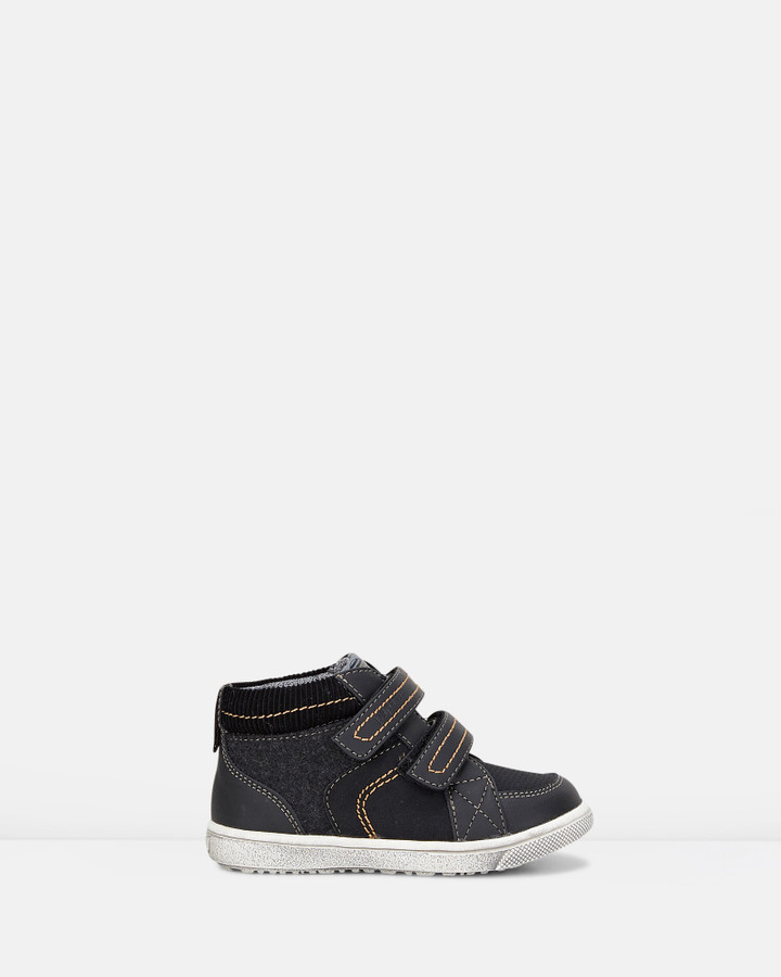 Shoes and Sox Westley Stitches Combo Boot B Black