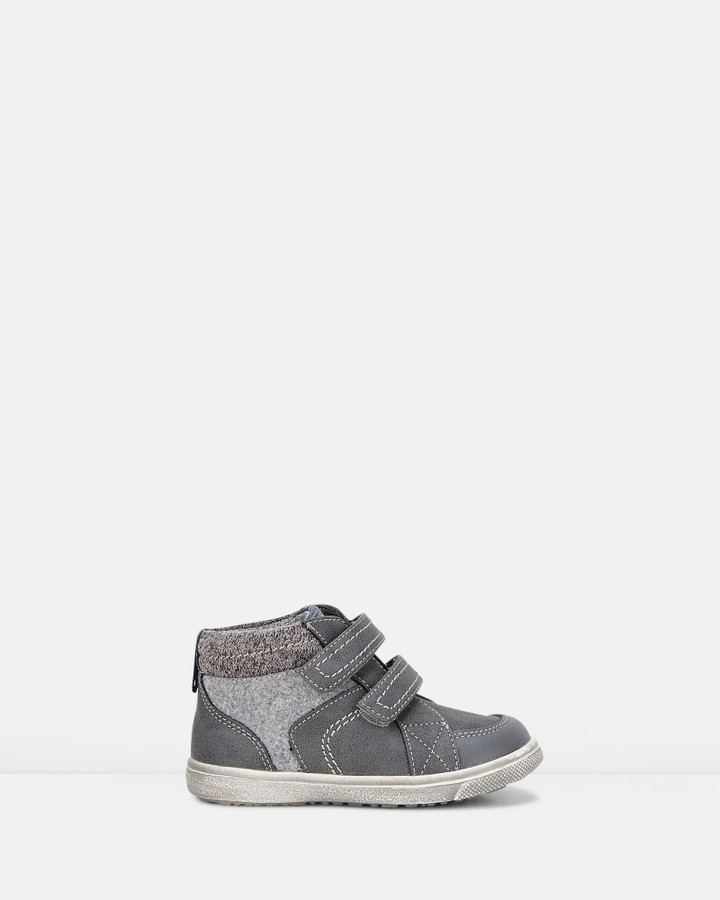 Shoes and Sox Westley Stitches Combo Boot B Grey