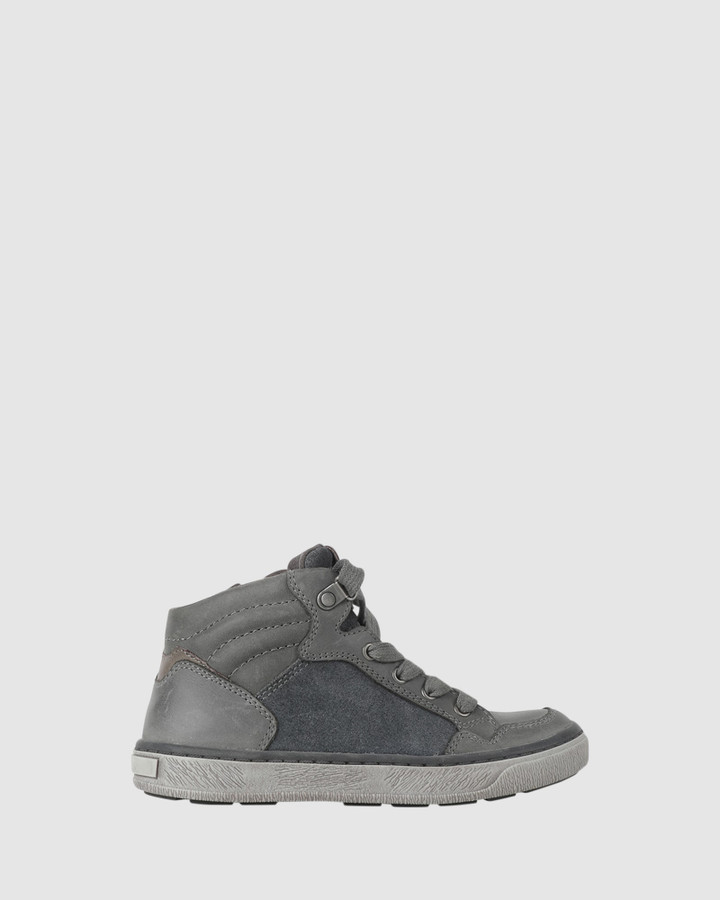 Shoes and Sox Grayson Hiker Boot Grey