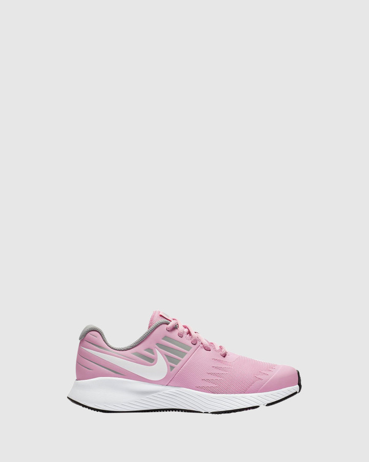 Shoes and Sox Star Runner Gs G Pink Rise/White