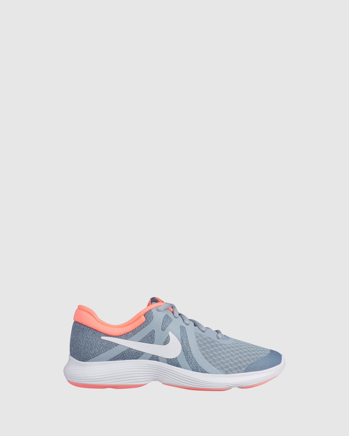 Shoes and Sox Revolution 4 Gs G Obsidian Mist/White