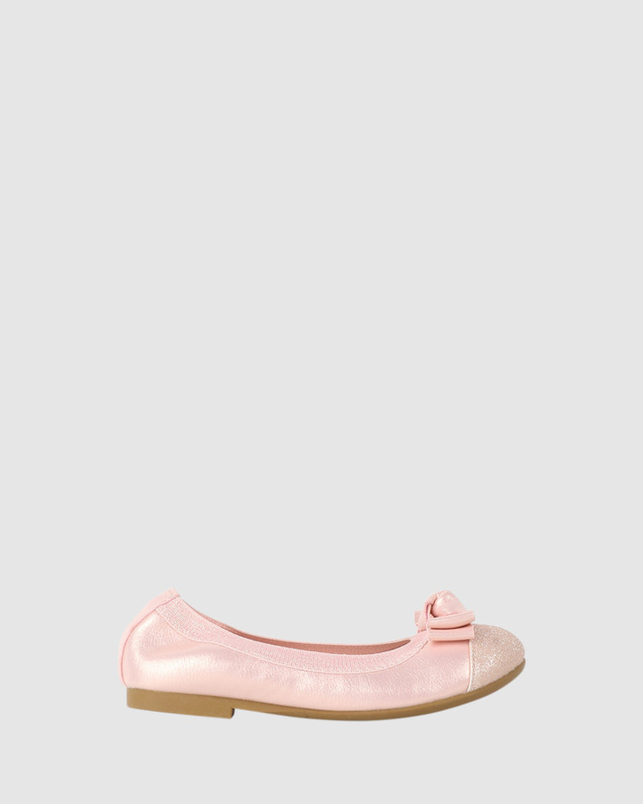 Shoes and Sox Charm Ballet Blush Pink
