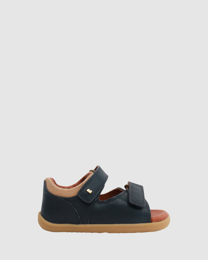 Shoes and Sox Step Up Driftwood Sandal Ii B Navy