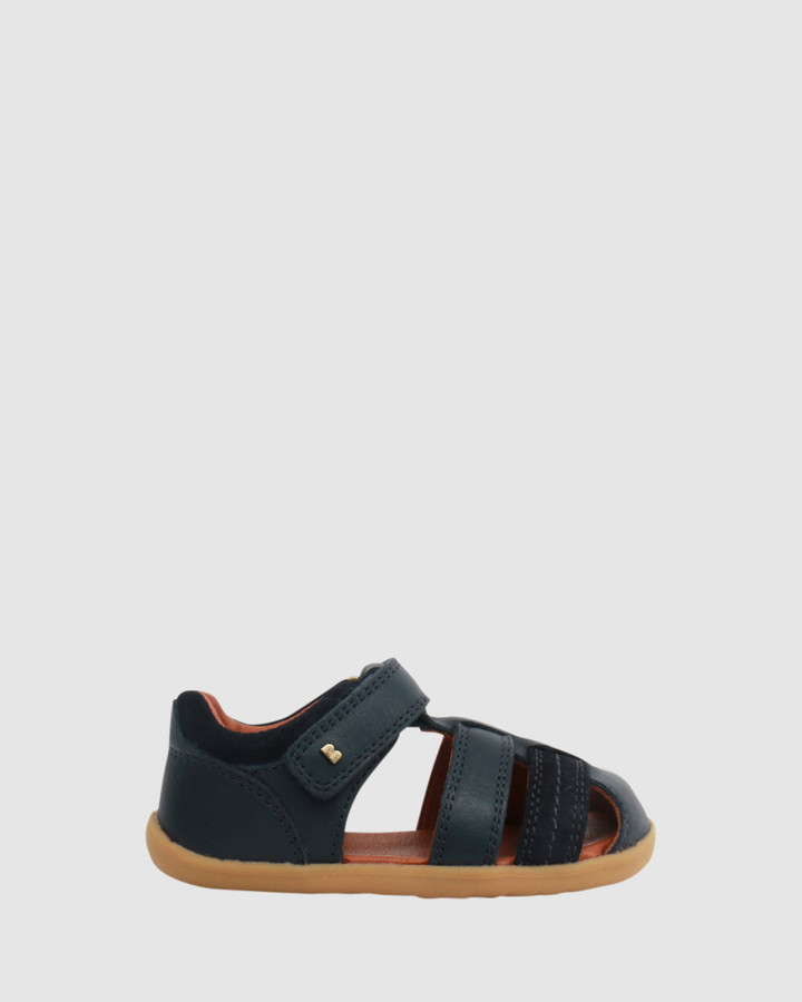 Shoes and Sox Step Up Roam Sandal B Navy