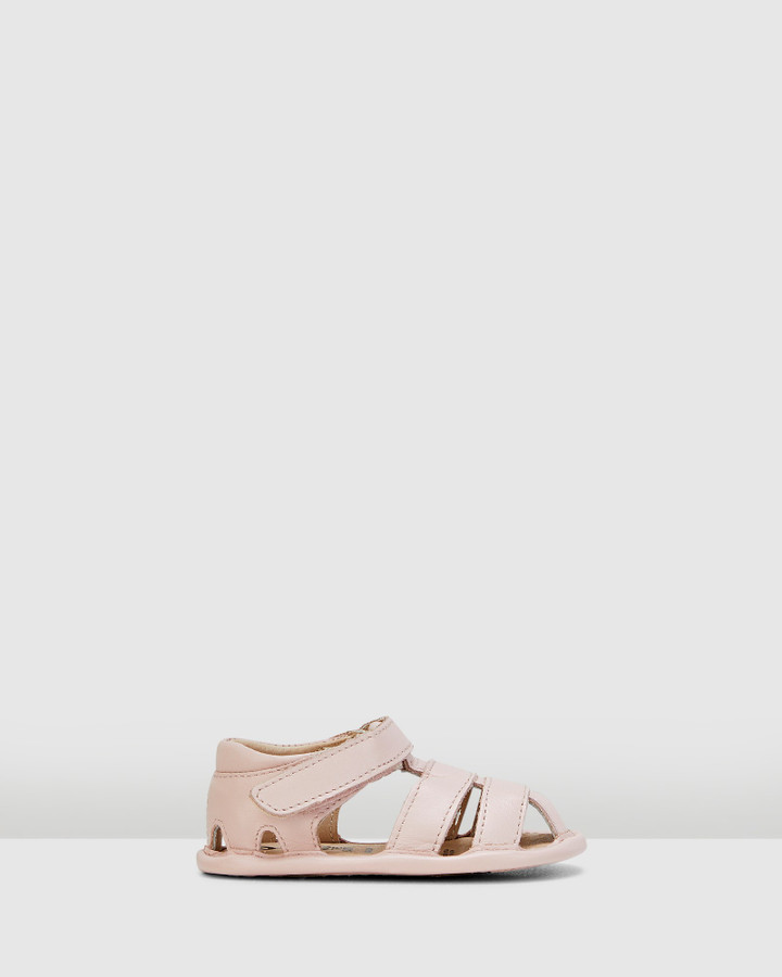 Shoes and Sox Sandy Sandal G Powder Pink