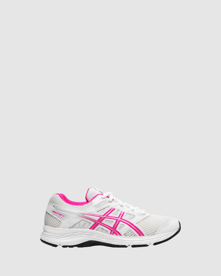 Shoes and Sox Contend 5 Gs G White/Pink Glo