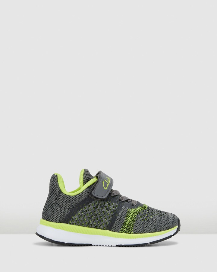 Shoes and Sox Leon Grey/Lime