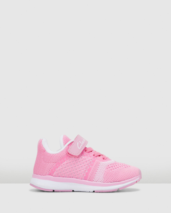 Shoes and Sox Leon Pink/White