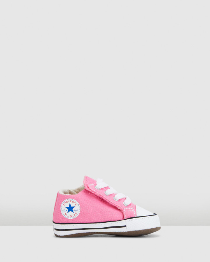 Shoes and Sox Chuck Taylor Cribster G Pink
