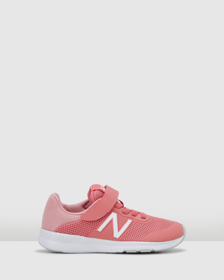 Shoes and Sox Premus Ii Ps G Flamingo Pink/White