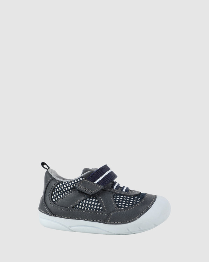 Shoes and Sox Billy B Grey/Navy