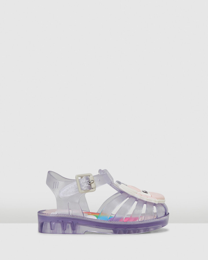 Shoes and Sox Possession Unicorn Clear Translucent